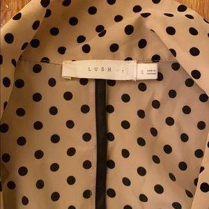 Lush Jackets & Coats - POKA DOT BLAZER